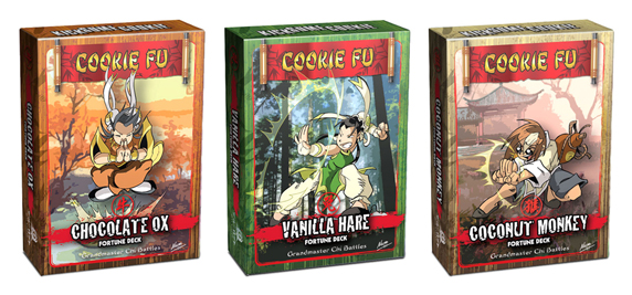 Cookie Fu Fortune Decks